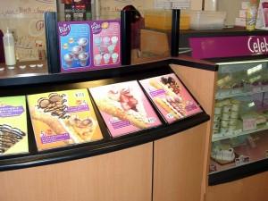 アイスクリーム店サンプルケース